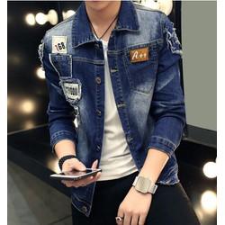 Áo khoác jeans vá styooii - Mã: NK0986