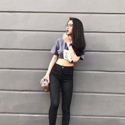 SHOP CÚN-SALE OFF-QUẦN JEAN ĐỒM LƯNG CAO FROM CHUẨN