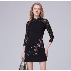Đầm nữ họa tiết cực xinh DV023