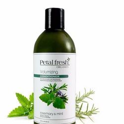 Dầu xả organic mượt và giảm rụng Bạc Hà và Hương Thảo Petal Fresh