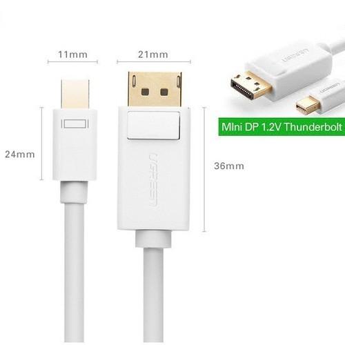 Cáp  Mini DisplayPort to Displayport 2m chính hãng Ugreen 10408