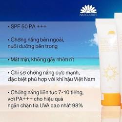 Chống Nắng của NARGUERITE phù hợp cho mọi loại da, chống nắng hiệu quả