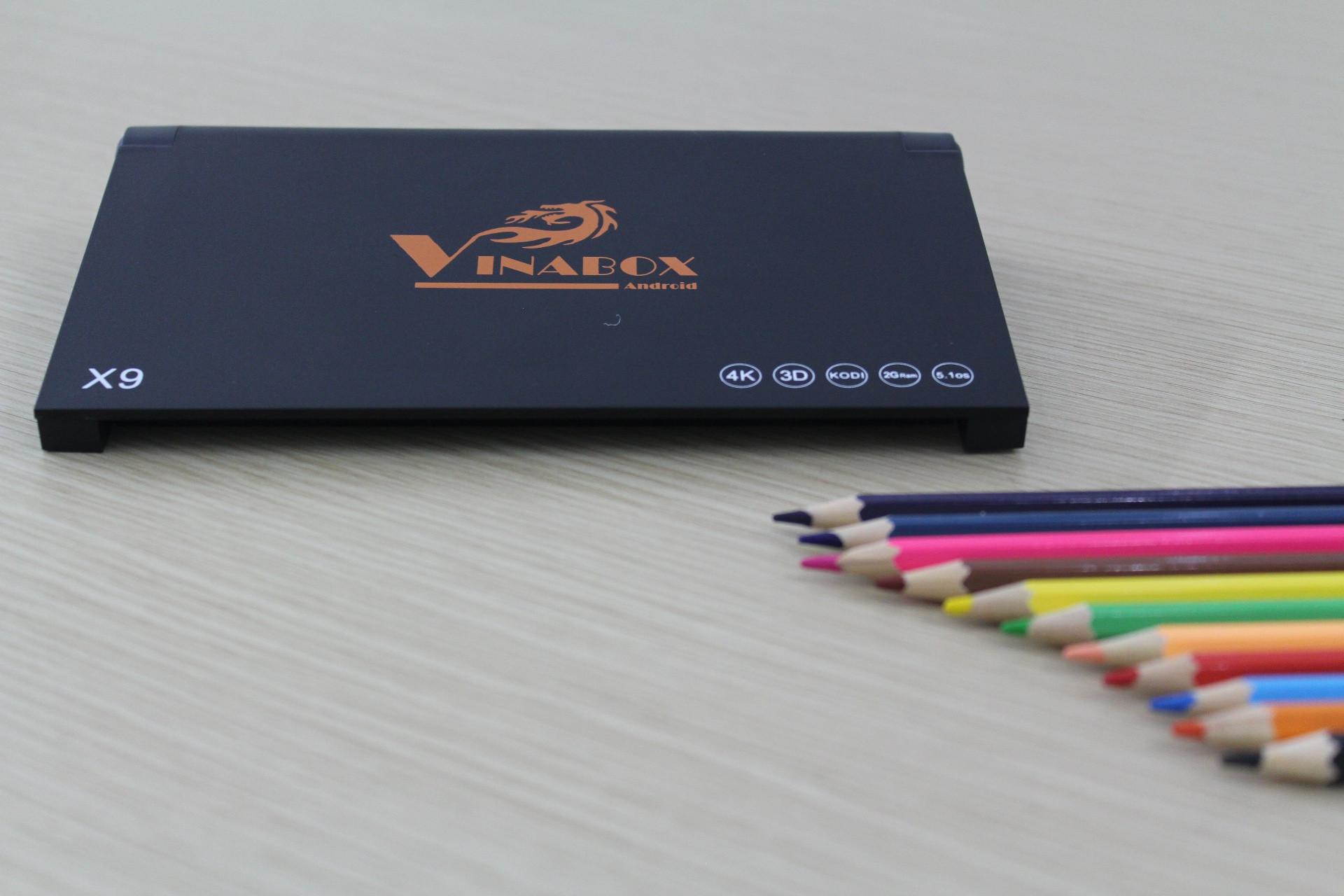 Android Tivi Box Vinabox X9- RAM 2GB + Tặng 1 chuột bay KM800 3