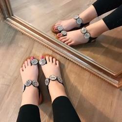 Sandal bệt dáng mới hàng cao cấp