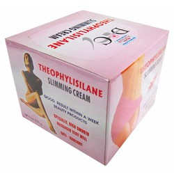 Kem massage tan mỡ theophylisilane slimming cream HT023