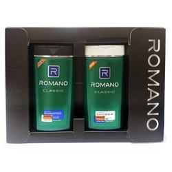 Bộ sản phẩm dầu gội và sữa tắm Romano