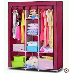 Thanh lý tủ vải 3 buồng 8 ngăn khung inox