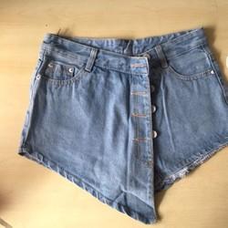 Quần short Jean giả váy - Hàng xuất khẩu