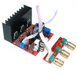 Mạch khuếch đại âm thanh TDA2030A 3 kênh 18Wx2 - 30Wx1
