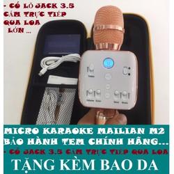 Micro karaoke Milian Kèm Loa Bluetooth chính hãng