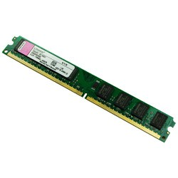 Dram 2 2gb bus 800 Kingston destop