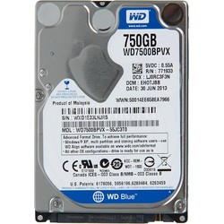 HDD laptop 750G 2.5 in 5400rpm