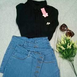 Quần sóc short jeans giả váy cực yêu cực xinh