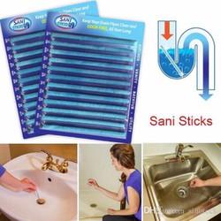 Dụng cụ thông tắc cống Sani Stick Hộp 12 que