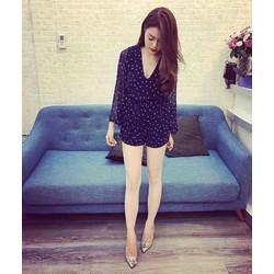 Jumpsuit short bi tay dài _MỎ CHU SHOP