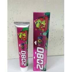 Combo 3 kem đánh răng trẻ em 2080 - Hàn Quốc