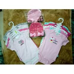 Set 5 áo body hàng VNXK cho bé iu nhà bạn