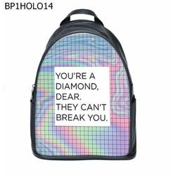 Balo Nữ Natthy You re A Diamond Simili Da Cao Cấp Chống Thấm