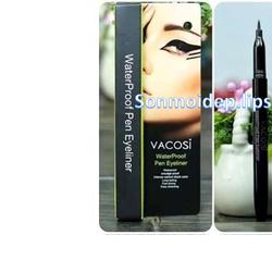 Bút kẻ mắt nước không trôi Vacosi Waterproof Pen Eyeliner