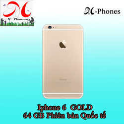 Iphone 6 64gb Gold phiên bản quốc tế