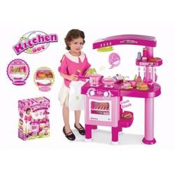 Bộ đồ chơi nấu ăn cao cấp có máy hút mùi