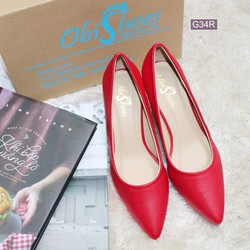 Giày gót Louboutin cao cấp