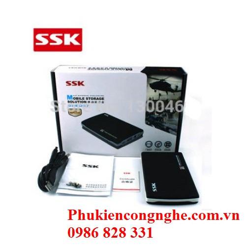 HDD Box Sata 2.5 SSK SHE037 - Hộp đựng ổ cứng thông minh 2