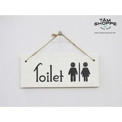 Bảng treo cửa Nhà vệ sinh Toilet
