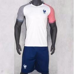 Đồ đá banh đội tuyển Pháp - Trắng