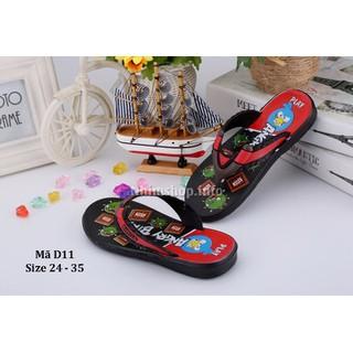 Sandal sỏ ngón cho bé trai 2 - 10 tuổi D11 - D11DEN thumbnail