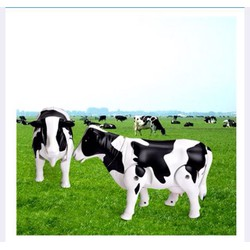 Mô hình đồ chơi con bò sữa biết đi, phát nhạc vui nhộn cho bé