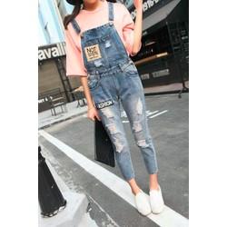 Quần yếm jeans fashion