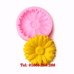 Khuôn rau câu 4D silicon – Hoa cúc - Mã số 55