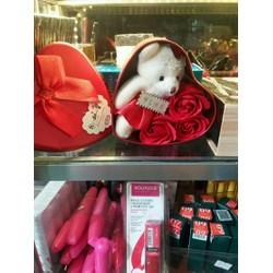 quà tặng bạn gái 8 tháng 3 valentine gấu bông