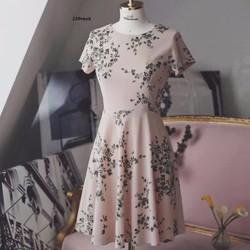 Đầm hoa hồng nhí