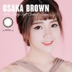 Kính áp tròng màu dùng 1 ngày Eye Secret - OSAKA BROWN