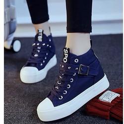 B020X - Giày bốt thể thao phong cách Hàn Quốc