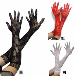 Găng tay gợi cảm, găng tay sexy 3 màu đen, đỏ, trắng