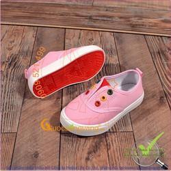 Giày slip on trẻ em đế cao su nhẹ chống trượt GLG043-hong