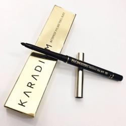 Bút chì kẻ mắt chống trôi Karadium Waterproof Eyeliner Pencil Black