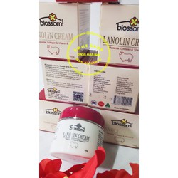 Blossom Lanolin Cream - Kem nhau thai cừu + Collagen, Vitamin E