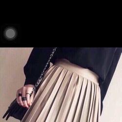 Chân váy da dập ly Quảng Châu