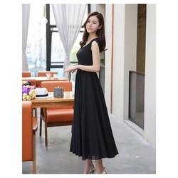 Đầm Maxi Phối Ren Cao Cấp