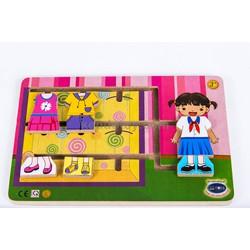 Bộ thời trang cho bé gái  |đồ chơi gỗ an toàn