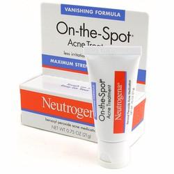Kem Trị Mụn Trứng Cá Neutrogena On The Spot Acne Treatment 21g từ Mỹ