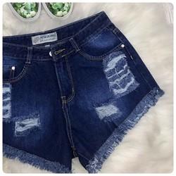 Quần short jeans was rách