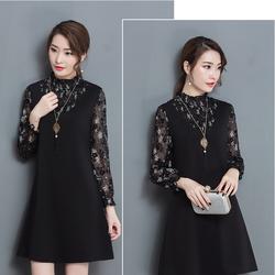 Đầm váy họa tiết trẻ trung DV402