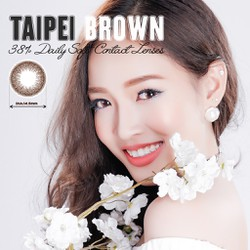 Kính áp tròng màu dùng 1 ngày Eye Secret - TAIPEI BROWN