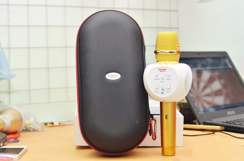 Micro karaoke bluetooth ZBX-66 chính hãng 2