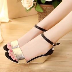Giày đế xuồng ánh kim - GDV01